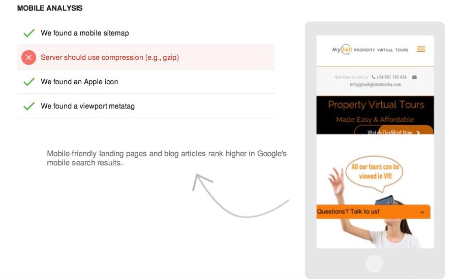 Mobile analysis score seo tool tutorial