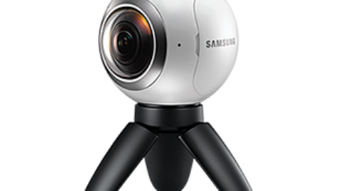 About the Samsung Gear 360 camera