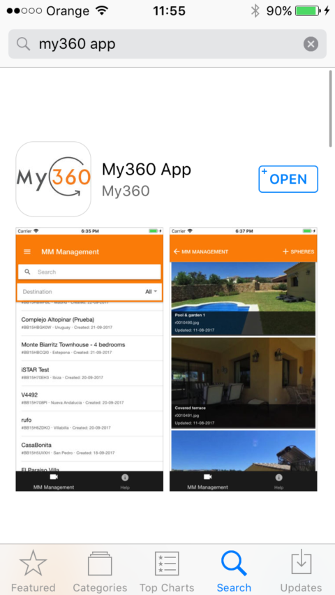 Official My360 virtual tour App Launch