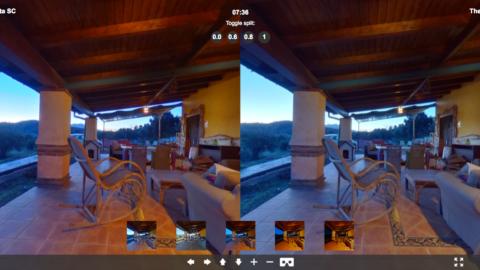 Theta SC and Theta V 360 Image Comparison