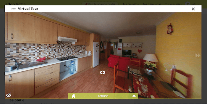 publish your OWN virtual tour to Idealista