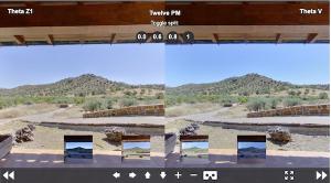 Theta V vs Z1 Image Comparison