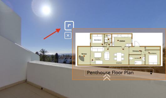 add a floor plan to your virtual tour