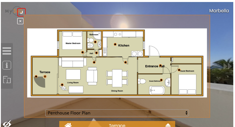 How To Add A Floor Plan To Your Virtual Tour My360 Virtual Tour Software