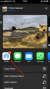 Make virtual tour iphone