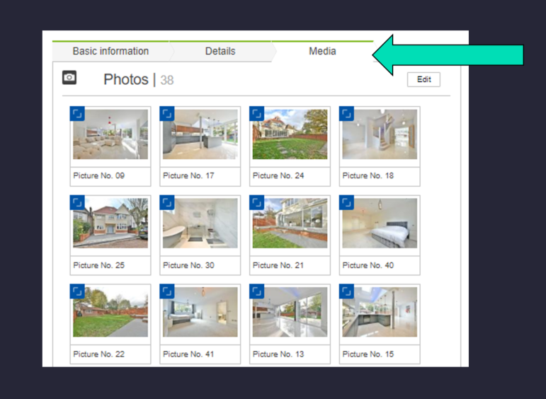 add your Virtual Tour to Rightmove