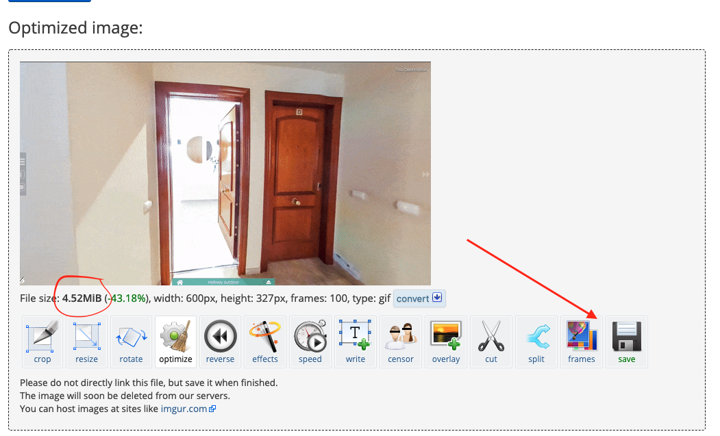 send a virtual tour in a newsletter
